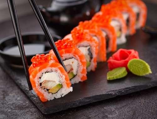 otslabvane s sushi